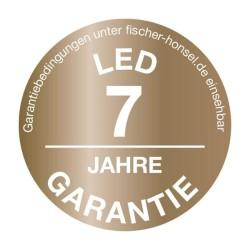 Applique extérieure ronde 15W Elner avec détecteur