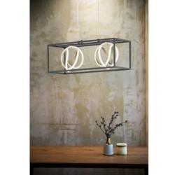 Lampe de table Mark Slöjd noire Utah