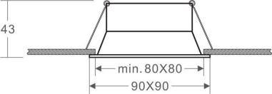 Applique extérieure LED étanche solaire avec détecteur de présence 1.6W