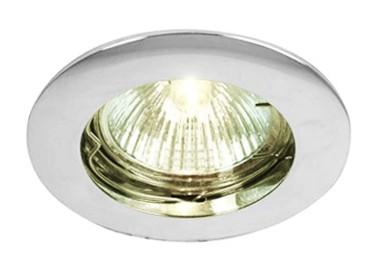 Lampadaire LED métal chromé 2 lampes