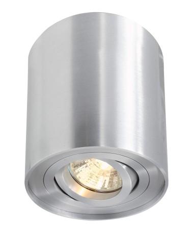 Lampadaire LED design trapèze noir