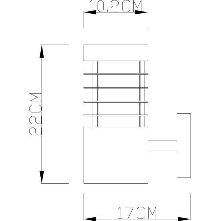 Lampe béton ronde suspendue OGIVA