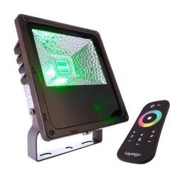 Grille décorative rayée biais pour applique extérieure rectangulaire Deko Light