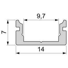 U-profile flat AU-01-08