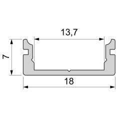 U-profile flat AU-01-12