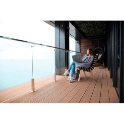 Lampe à poser cuivre Pole Table